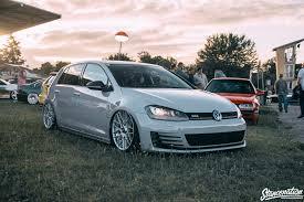 stance vehicle car volkswagen golf