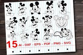 Mickey mouse SVG Minnie mouse Svg Mickey mouse cricut