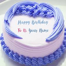 happy birthday wishes name write cake