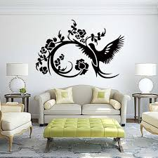 Bird Flower Love Sky Decor Bedroom Sitting Room Quote Wall Stickers Vinyl Decal Art Removable Decals Diy Word Wall Art Word Wall Decals From Langru1002 7 93 Dhgate Com