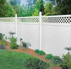 Create Your Dream Property By Landscaping With Decorative Fencing Vinyl Fence Landscaping Fence Design Vinyl Fence