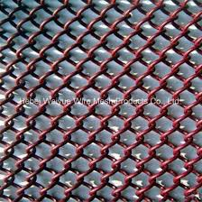 china high quality soft chain link mesh