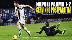Napoli Parma 1-2 Gervinho postpartita! #NapoliParma #Napoli ...