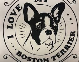 Items Similar To Boston Terrier Decal Boston Terrier Vinyl Sticker Boston Terrier Terrier Boston Terrier Dog Bosto In 2020 Terrier Dog Quotes Boston Terrier Dog