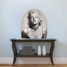 Marilyn Monroe Mural Decal Hollywood Wall Decal Murals Primedecals
