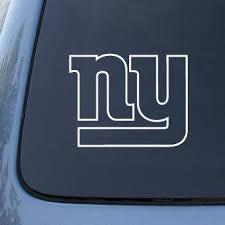 New York Giants Car Decal Custom Decals Ny Giants New York Giants