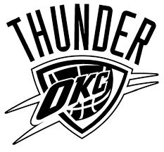 Oklahoma City Thunder Die Cut Vinyl Graphic Decal Sticker Nba Basketball