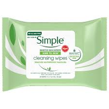 simple makeup remover wipes ings