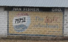 Ivan Fisher's Grocery Pepsi Sign -- Michie TN - Ghost Signs on  Waymarking.com