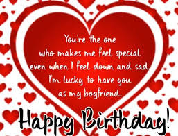 happy birthday wishes for boyfriend of love