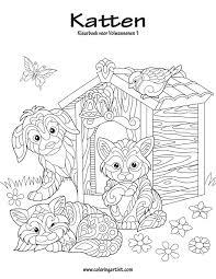 Amazon Com Katten Kleurboek Voor Volwassenen 1 Volume 1 Dutch