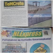 Temcrete Temcrete Is Published On Nlexpress Volume 13 Facebook