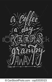 hand lettering quote sketches for coffee shop or cafe hand