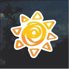 Aztec Sun Window Decal Sticker Custom Sticker Shop