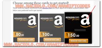 free amazon gift card code without