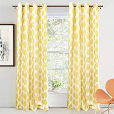 Amazon Com Curtains Drapes Polka Dot Curtains Drapes Window Treatments Home Kitchen