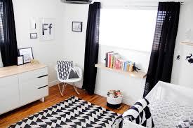 finn s black and white woodland nursery