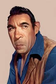 Anthony Quinn Caricature on Behance