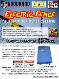 Good Hand Electric Wire Security Fence Cctv San Jose Del Monte Bulacan Facebook