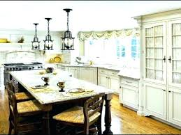 french country kitchen lighting rustic