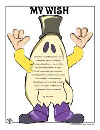 My Wish by Ada Clark   Halloween poems for kids, Halloween poems ...