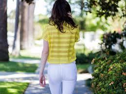 wear white jeans