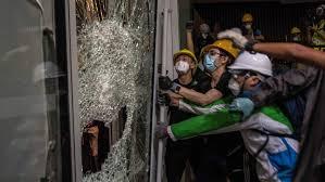 China condemns Hong Kong protesters for violence | CBC News