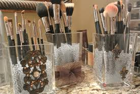 diy makeup brush holders loveleigh beauty