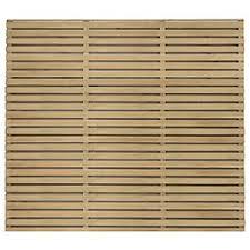 Forest Garden Double Slatted Fence Panel 6 X 5 Ft Multi Packs Wickes Co Uk