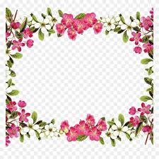 Rose Flower Border Clipart Tags Flowers Art Decoupage With Regard Fall Borders Clip Art Free Stunning Free Transparent Png Clipart Images Free Download