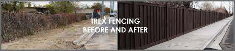 Ideas For Fencing Using Composite Fence Panels Available At The Trex Inspiration Gallery Trex Fencing The Composite Alternative To Wood Vinyl