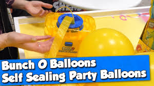 Bunch O Balloons Party Pump & Self Sealing Party Balloons By Zuru ...