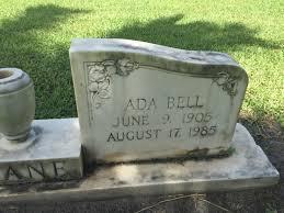 Ada Bell Deane