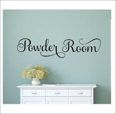 Powder Room Decal Door Decal For Powder Room Or Bathroom Home Or Business Decal Vinyl Wall Decor