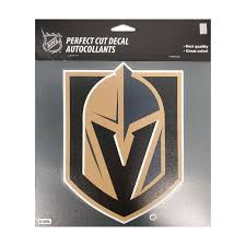 Vegas Golden Knights Wincraft 8x8 Perfect Cut Color Decal Vegasteamstore