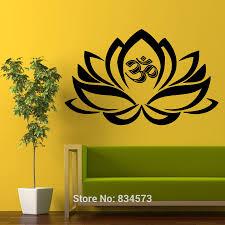 Flower Wall Decal Stickers Lotus Vinyl Design Hobby Lobby South Africa Mandala Vamosrayos
