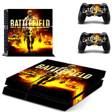 Battlefield 3 Ps4 Full Faceplates Skin Console Controller Decal Stickers For Sony Playstation 4 Console And Two Controller Sale Up To 70 Stickersmegastore Com
