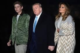 Melania Trump Wishes Son Barron Happy ...