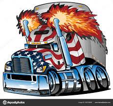 ᐈ Semi Truck Tattoo Designs Stock Vectors Royalty Free Semi American Flag Illustrations Download On Depositphotos
