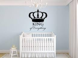 King Of Everything Crown Wall Decal Vinyl Sticker Home Decor Wall Art Bedroom Decal 65x56cm Cheap Wall Decals Cheap Wall Decals For Kids From Joystickers 13 56 Dhgate Com