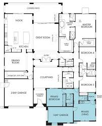 best house plans with in law suite one