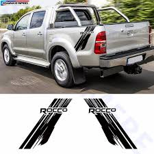 For Toyota Hilux Rocco Graphics Vinyl Decal Car Styling Trunk Decor Sticker Auto Body Customized Decals Sport Racing Stickers Car Stickers Aliexpress