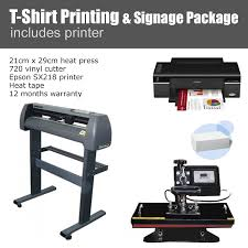 T Shirt Printing Signage Package
