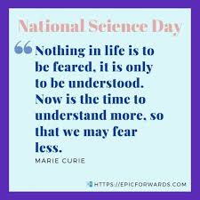 national science day quotes history epic forwards
