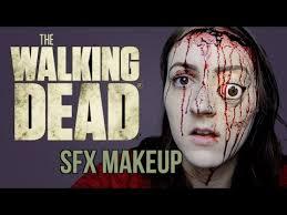 walking dead sfx makeup tutorial