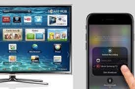 to screen mirroring iphone to samsung tv
