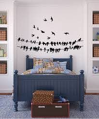Black Birds Wall Decal Wall Decals Bird Wall Decals Frames On Wall