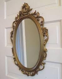 syroco mirror vintage long rectangle