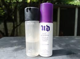 mac makeup setting spray in stan