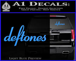 Deftones Decal Sticker Band Logo A1 Decals